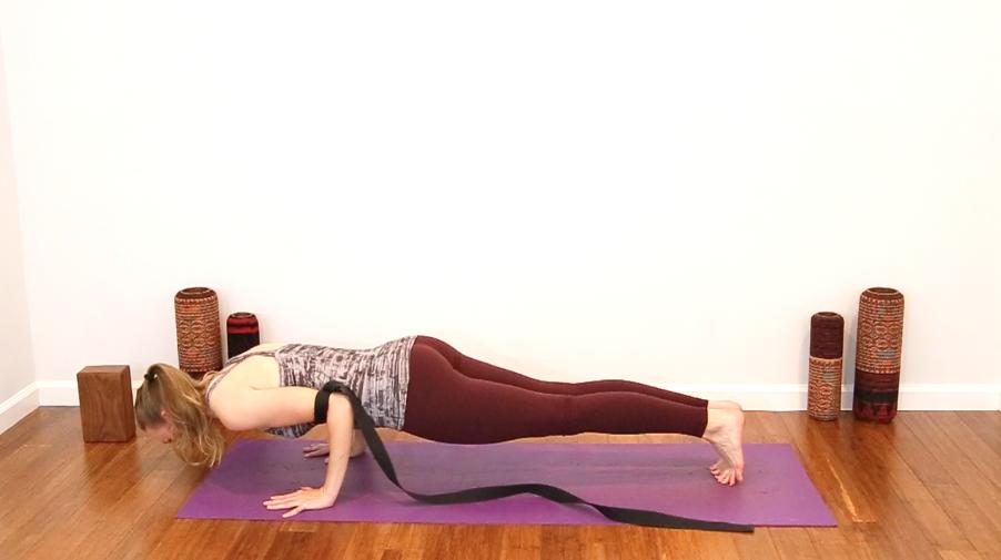 Image result for chaturanga yoga strap