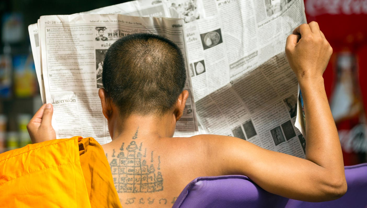 Sacred Tattoos Inside The Thai Tradition Of Sak Yant